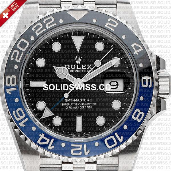 Rolex GMT-Master II Batman Blue Black 40mm