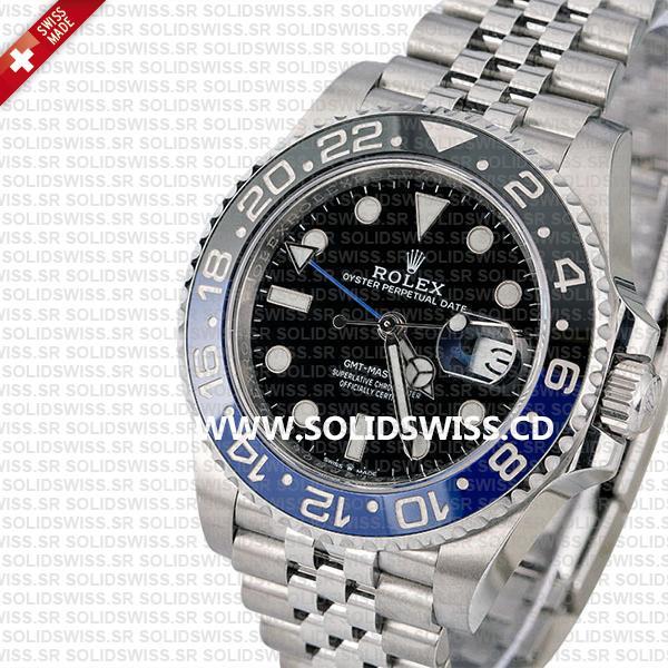 Rolex GMT-Master II Batman Blue Black Ceramic Bezel 40mm Replica Watch