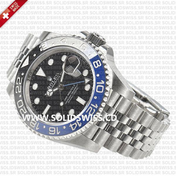 Rolex GMT-Master II Batman Blue Black Ceramic Bezel 40mm Swiss Replica Watch