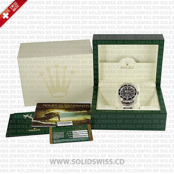 Rolex Box Set and Papers with International Warranty Card