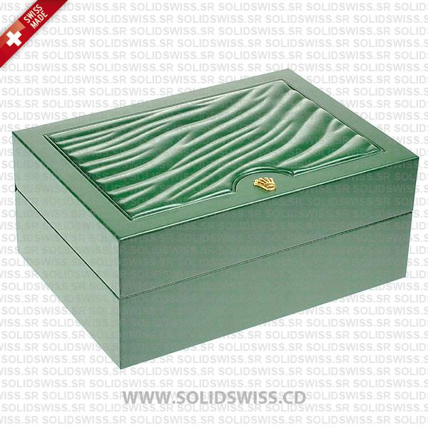 Rolex Watch Box Latest Design with Green laminated finish
