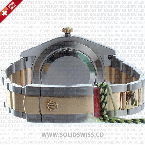 Rolex Datejust Two-Tone 18k Yellow Gold/904L Steel Bracelet Watch