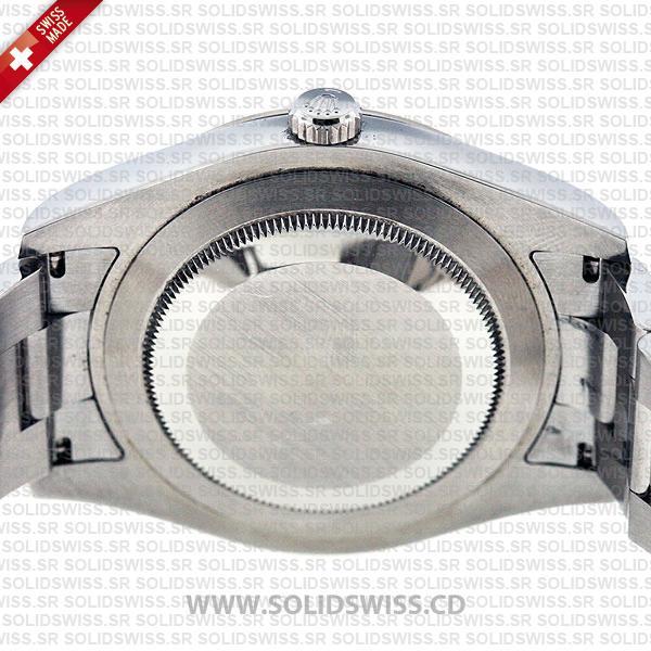 Rolex Datejust Roman 41mm Black Dial Watch
