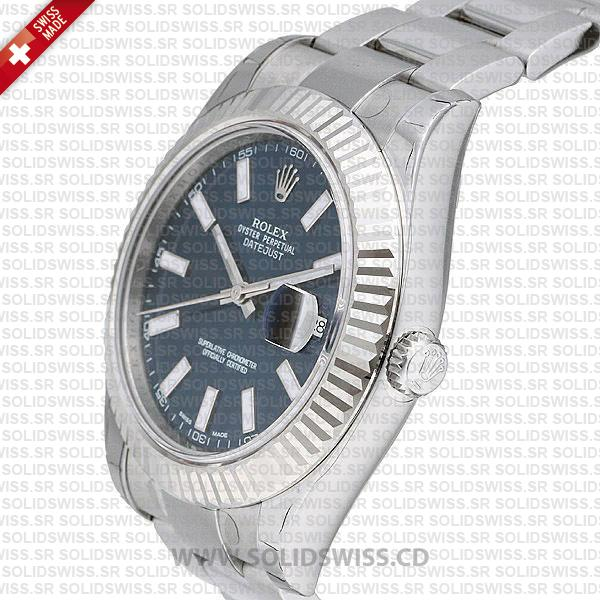 Rolex Datejust Blue Dial 41mm