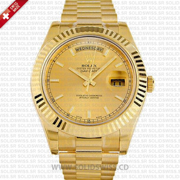 Rolex Day-Date II Gold Gold