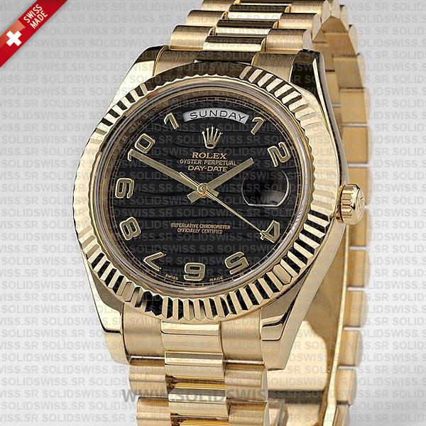 Rolex Day-Date Gold Wave