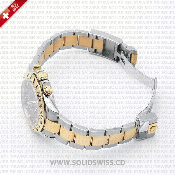 Rolex Daytona Two-Tone Stainless Steel Oyster Bracelet Watch
