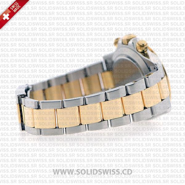 Rolex Daytona Two-Tone 18k Yellow Gold Wrap Grey Dial
