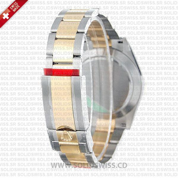 Rolex Daytona Two-Tone 18k Yellow Gold Wrap Grey Dial 40mm