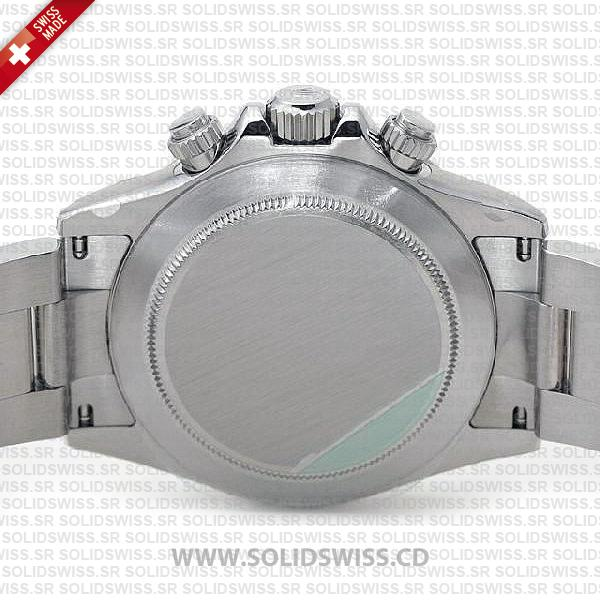 Rolex Daytona 18k White Gold White Dial Watch