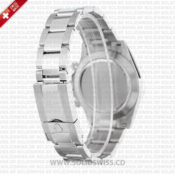 Rolex Daytona 18k White Gold White Dial Oyster Bracelet