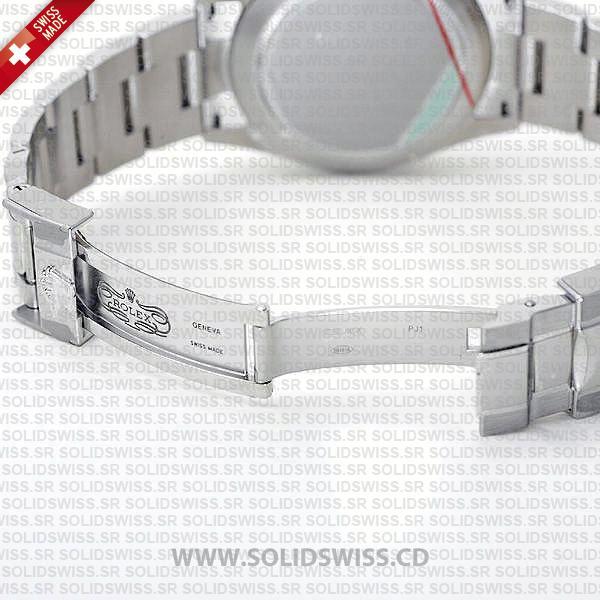 Rolex Cosmograph Daytona 18k White Gold Stainless Steel Oyster Bracelet