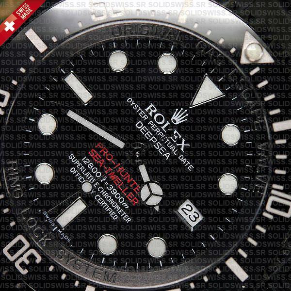 Rolex Deepsea Pro Hunter PVD Black Dial 44mm Watch