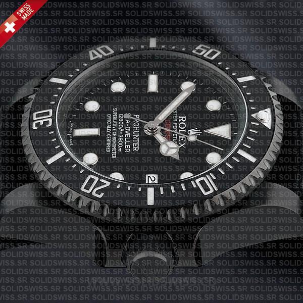 Rolex Sea-Dweller Deepsea Pro Hunter PVD Nato Strap