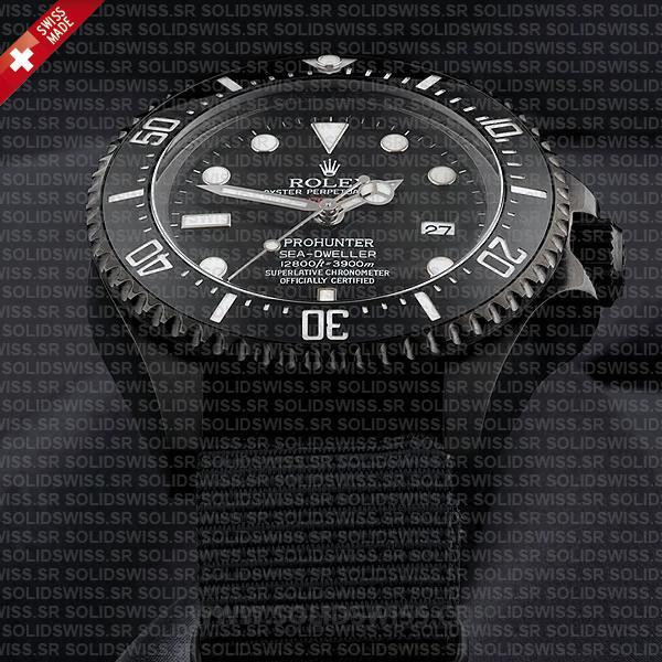 Rolex Sea-Dweller Deepsea Pro Hunter PVD Nato Strap 116660