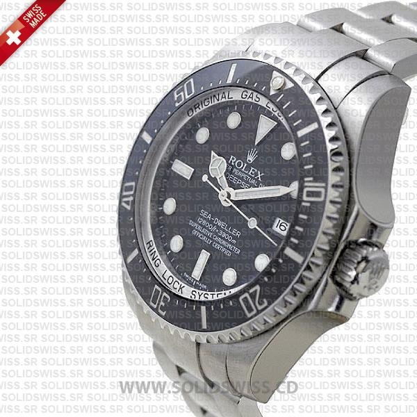 Rolex Deepsea Sea-Dweller 44mm Black Dial | 904L Steel Watch