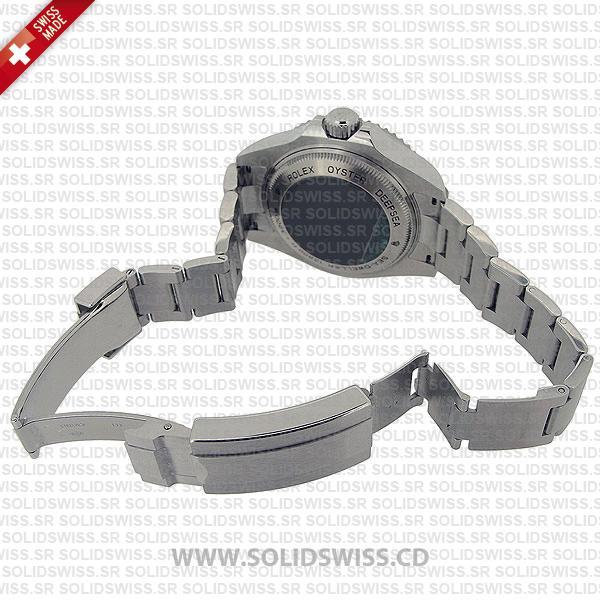 Rolex Sea-Dweller Deepsea Stainless Steel Ceramic Bezel 44mm Watch