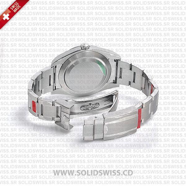 Rolex Explorer 1 Stainless Steel Black Dial Oyster Bracelet