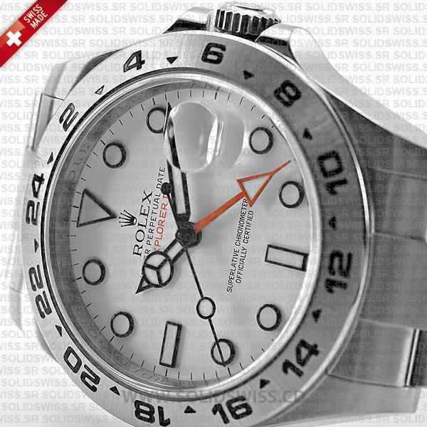 Rolex Explorer II 42mm White Dial