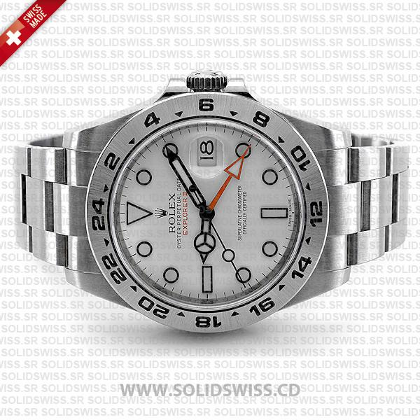 Rolex Explorer II 42mm White Dial Replica