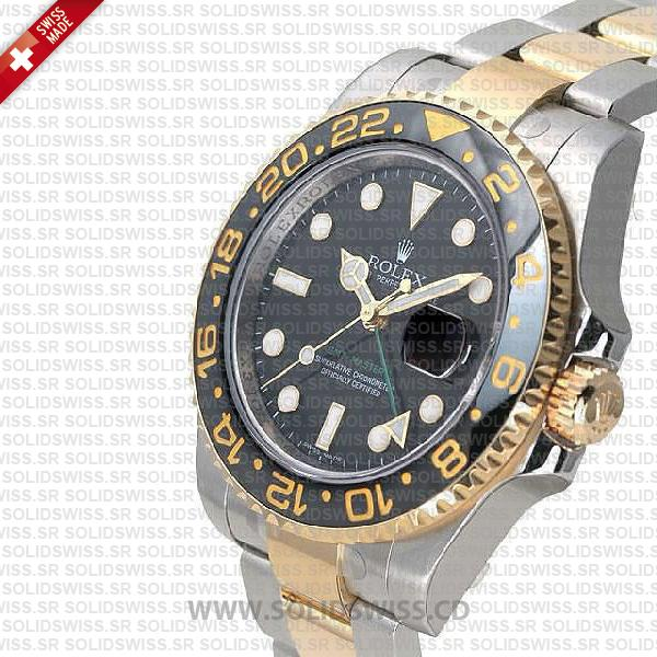 Rolex GMT-Master II Two-Tone 904L Steel