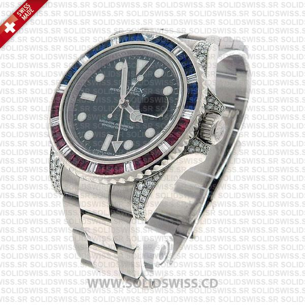Rolex GMT-Master II Blue Red Ruby Watch