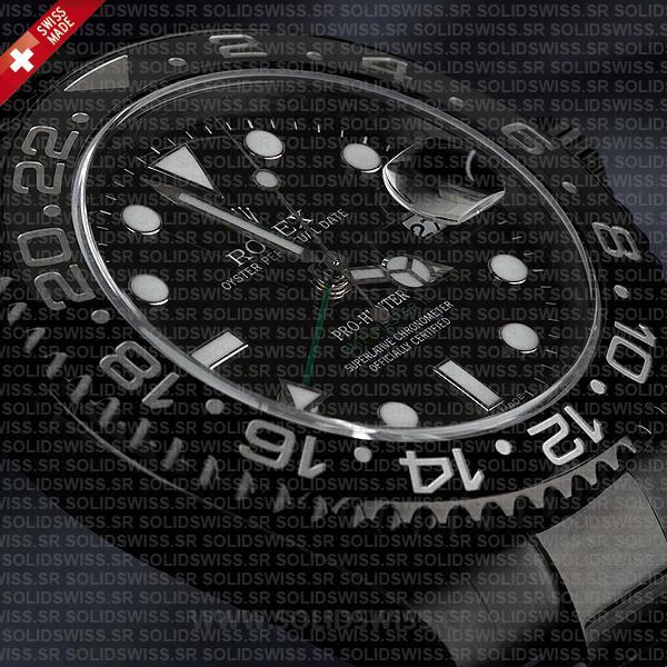 Rolex GMT-Master II Pro Hunter DLC Black Dial 40mm