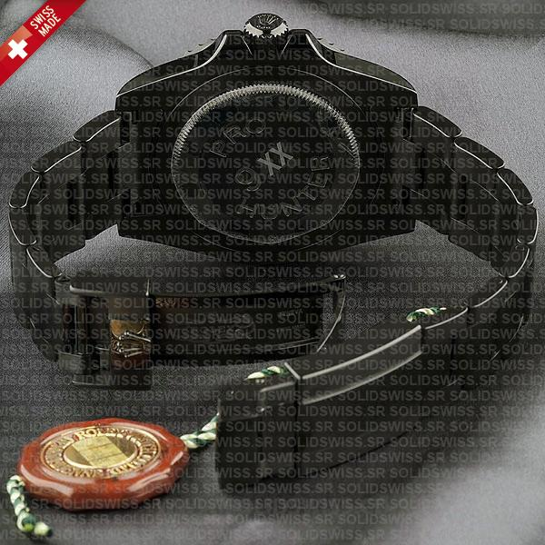 Rolex GMT-Master II Pro Hunter DLC Black Dial 40mm 904L Steel