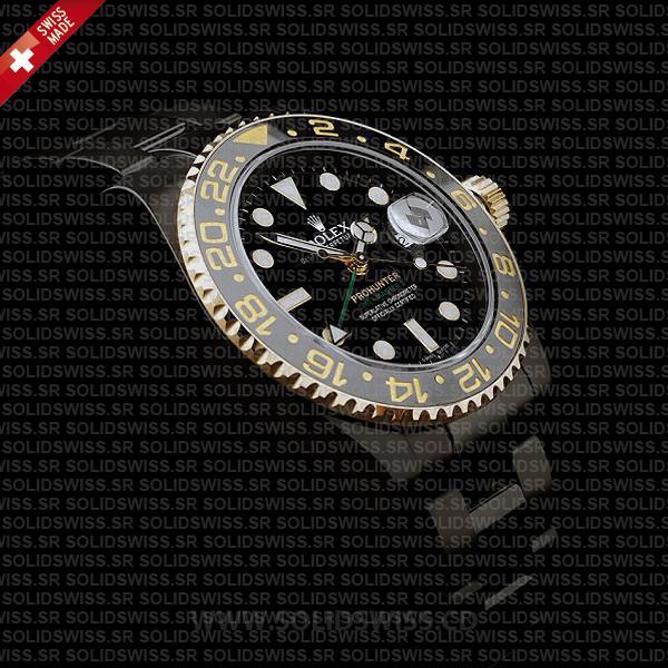 Rolex GMT-Master II Pro Hunter DLC Gold Black Ceramic Bezel