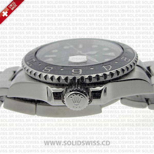 Rolex GMT-Master II Stainless Steel Black Ceramic Bezel