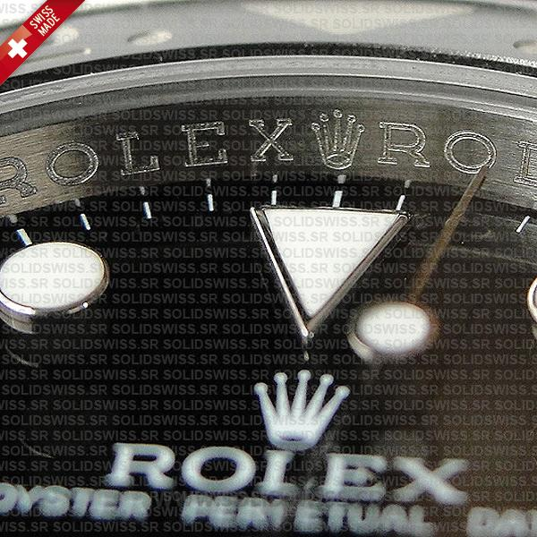 Rolex GMT-Master II Stainless Steel Black Dial