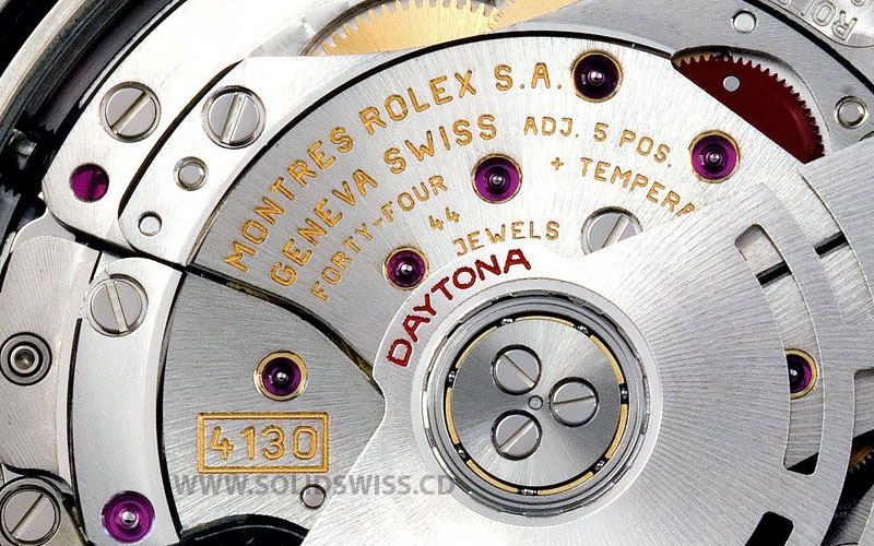 Rolex 4130 Movement Clone Swiss Made Watches   Solid Swiss
