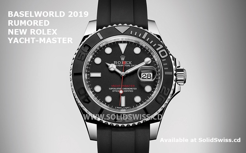 Rolex Yacht-Master 2019 Stainless Steel Black Dial Details