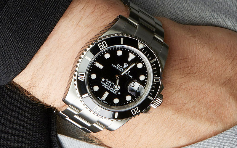 Rolex Submariner Stainless Steel Black Dial | Ceramic Bezel