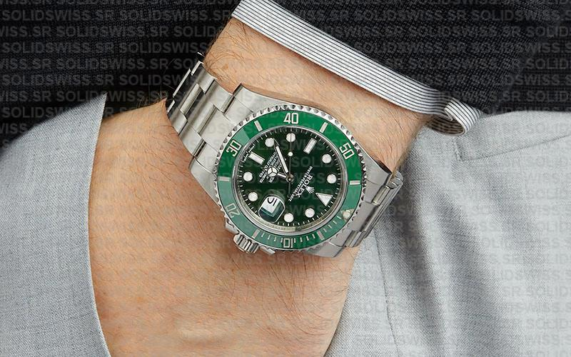 Rolex Submariner Hulk 904L Steel Replica Details | Solid Swiss