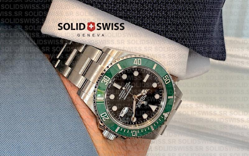 Rolex Submariner Green Ceramic Bezel Replica Watch Review