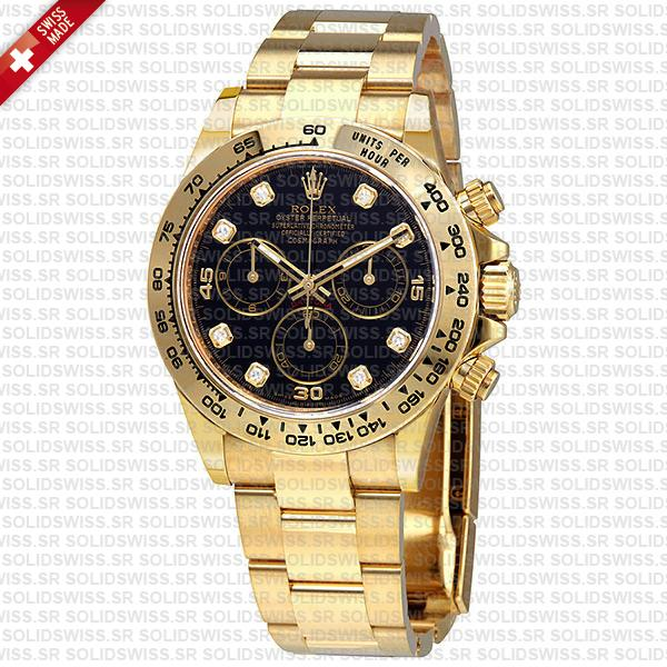 Rolex Oyster Perpetual Cosmograph Daytona 40mm Black Dial