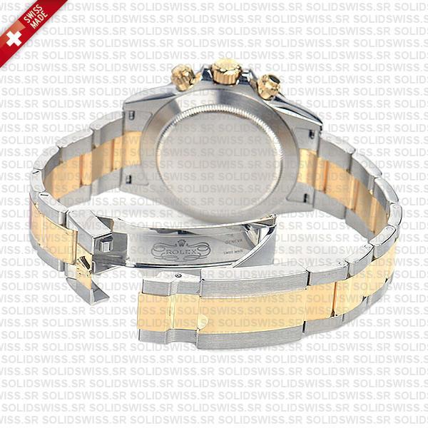 Rolex Cosmograph Daytona Two-Tone 18k Yellow Gold Oyster Bracelet