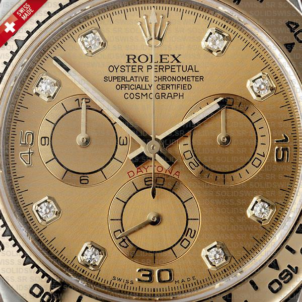 Rolex Daytona Two Tone Gold Dial