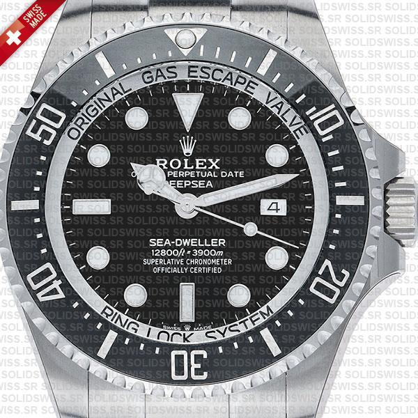 Rolex Deepsea Sea-Dweller 904L Steel Black