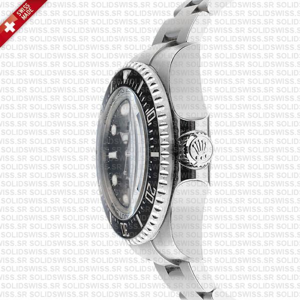 Rolex Deepsea Sea-Dweller 904L Steel Black Dial
