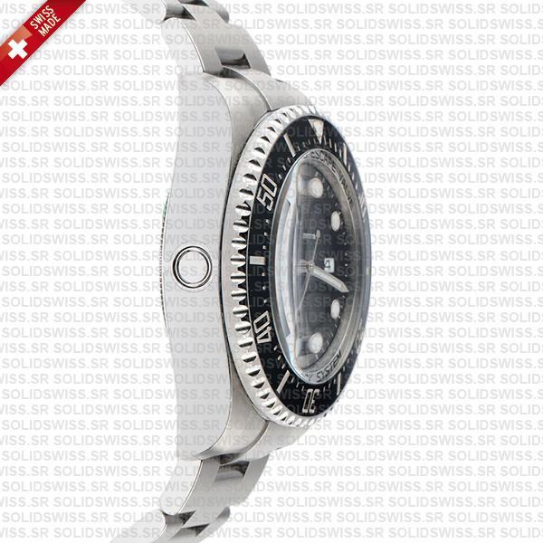 Rolex Deepsea Sea-Dweller 904L Steel Black Dial Ceramic Bezel