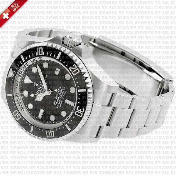 Rolex Deepsea Sea-Dweller 904L Steel Black 126660
