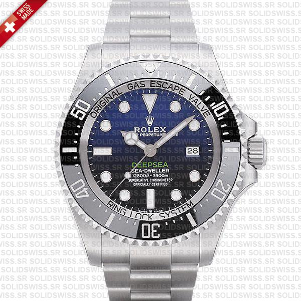 rolex deepsea d-blue 126660 swiss replica