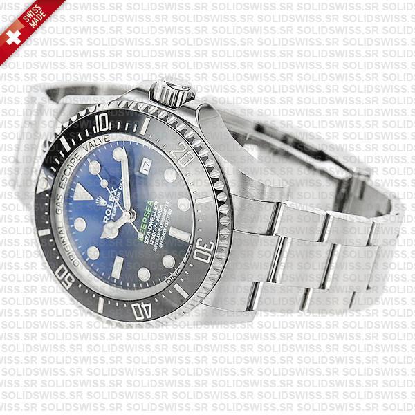 Rolex Sea-Dweller Deepsea D-Blue 904L Steel
