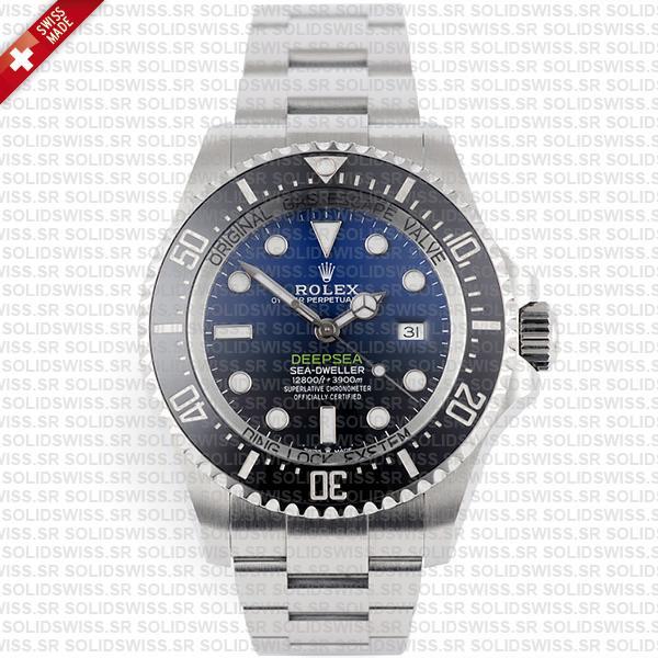 Rolex Sea-Dweller Deepsea D-Blue 904L Steel Blue-Black