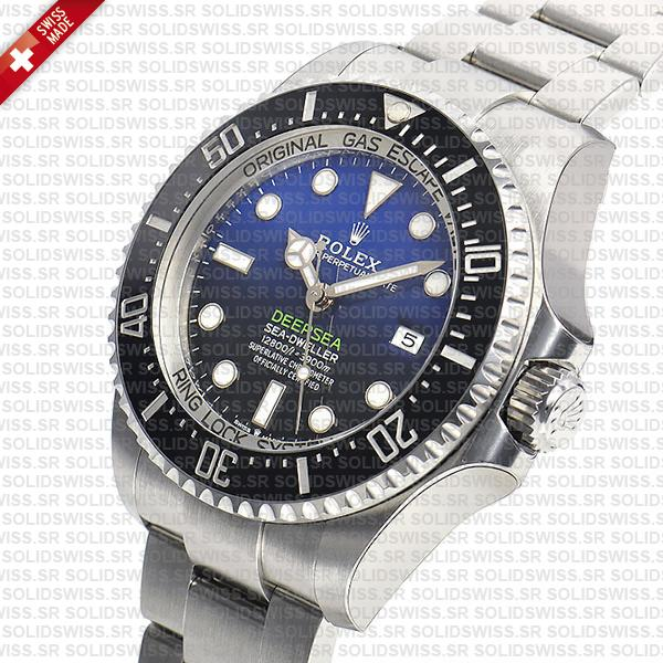 olex Sea-Dweller Deepsea Blue-Black Dial