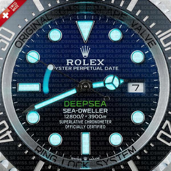 olex Sea-Dweller Deepsea Blue-Black Dial 44mm