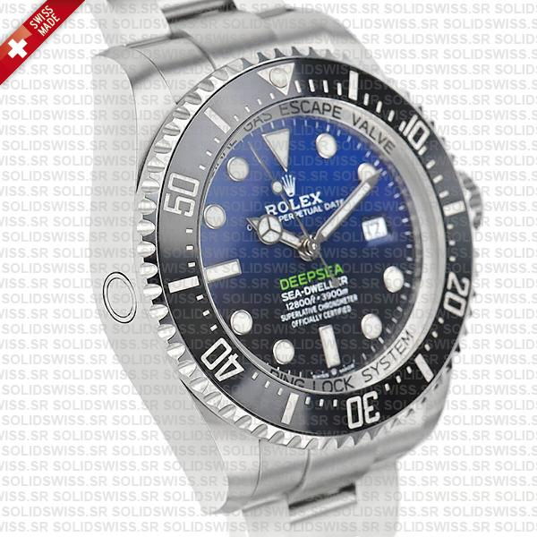 Rolex Sea-Dweller Deepsea D-Blue 904L