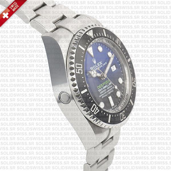 Sea-Dweller Deepsea D-Blue 904L Steel Blue-Black Dial 44mm